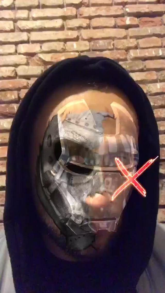 Instagram filter Mask X