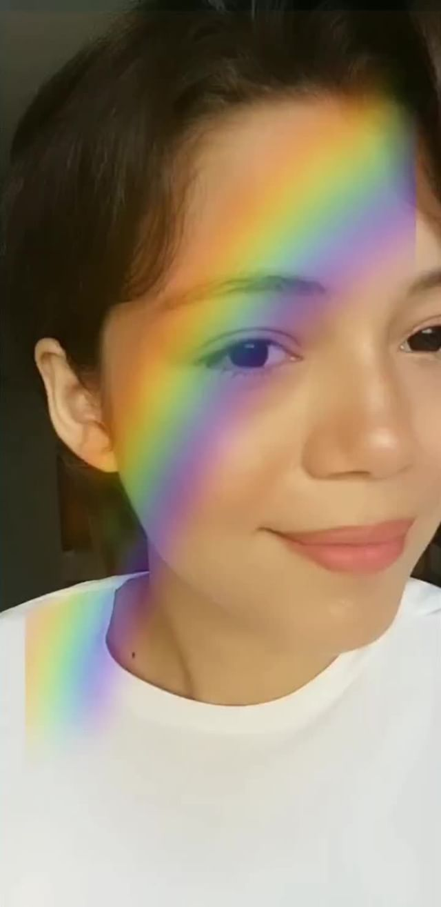 Instagram filter Rainbow