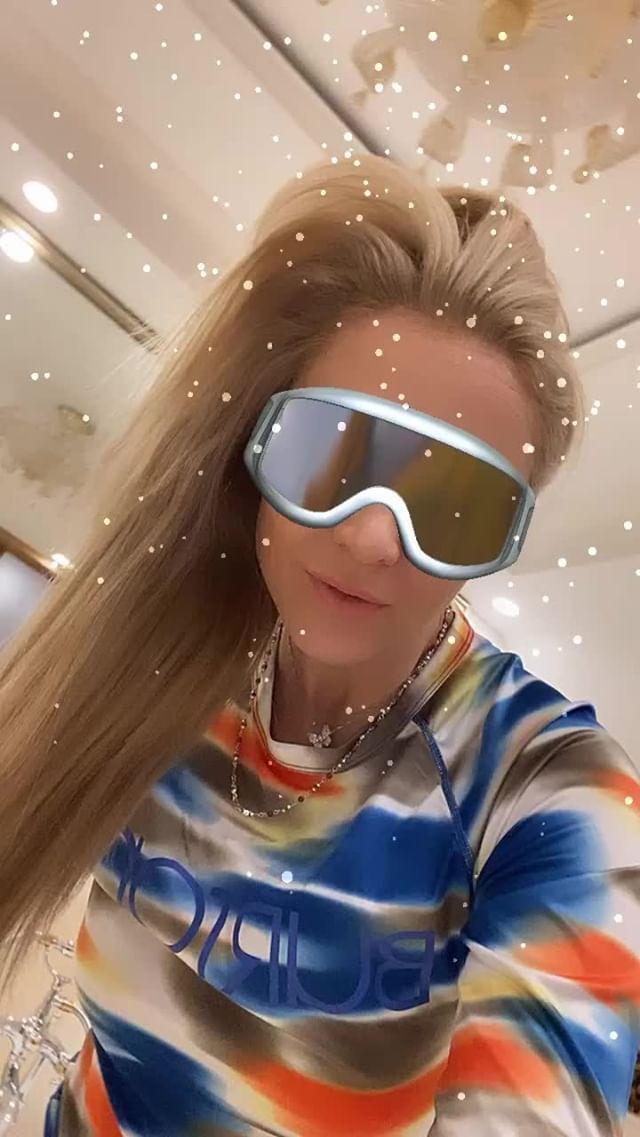 Instagram filter Funky Ski