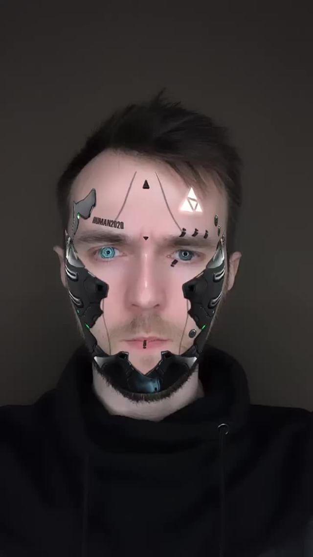 skellerdy Instagram filter HUMAN 2020