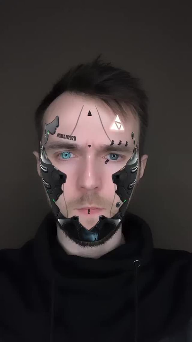 Instagram filter HUMAN 2020