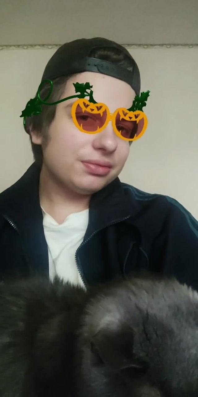Instagram filter glasses-pumpkins