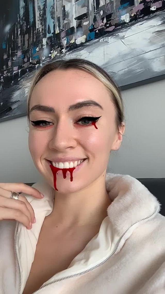 Instagram filter Bloodface