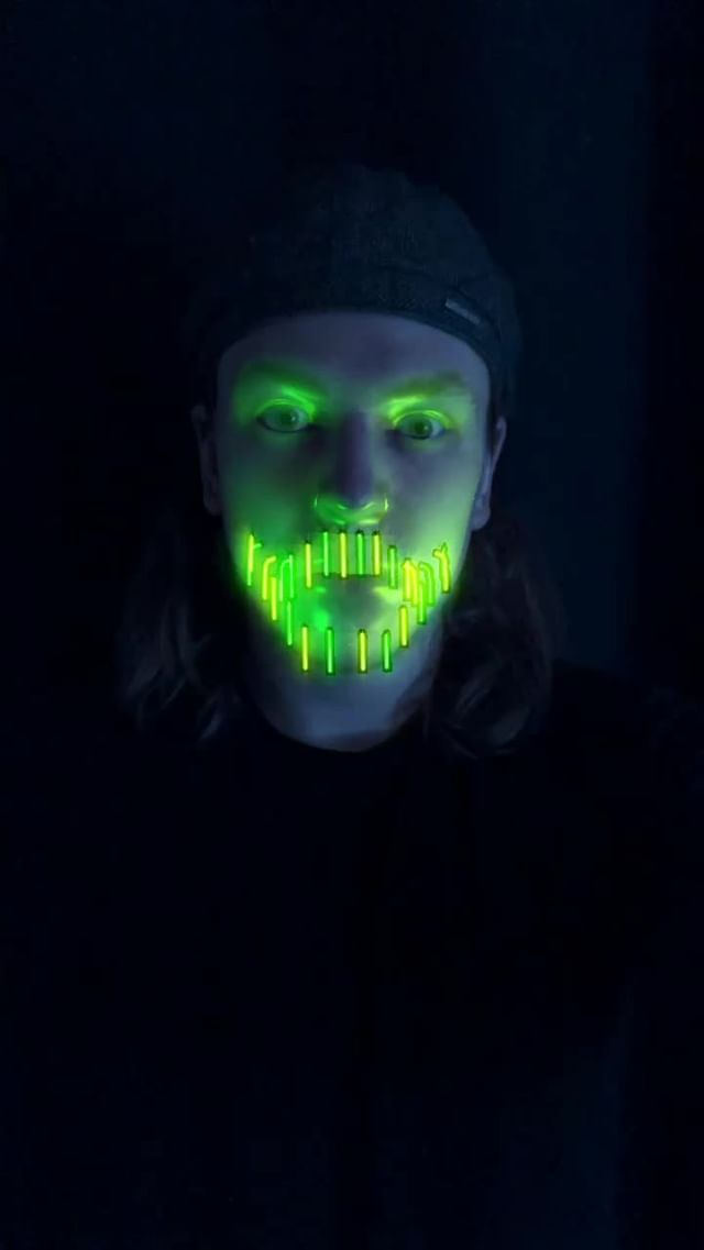 bourgadotin Instagram filter Neon Beard