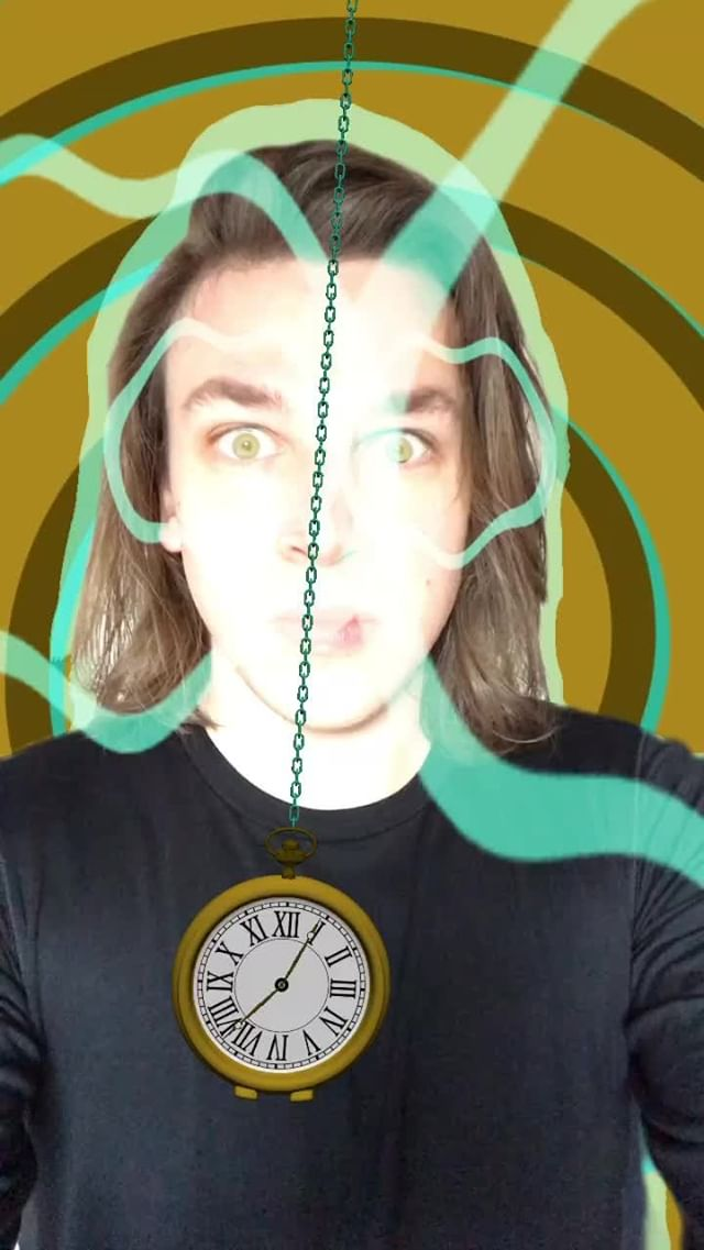 bourgadotin Instagram filter Hypnosis