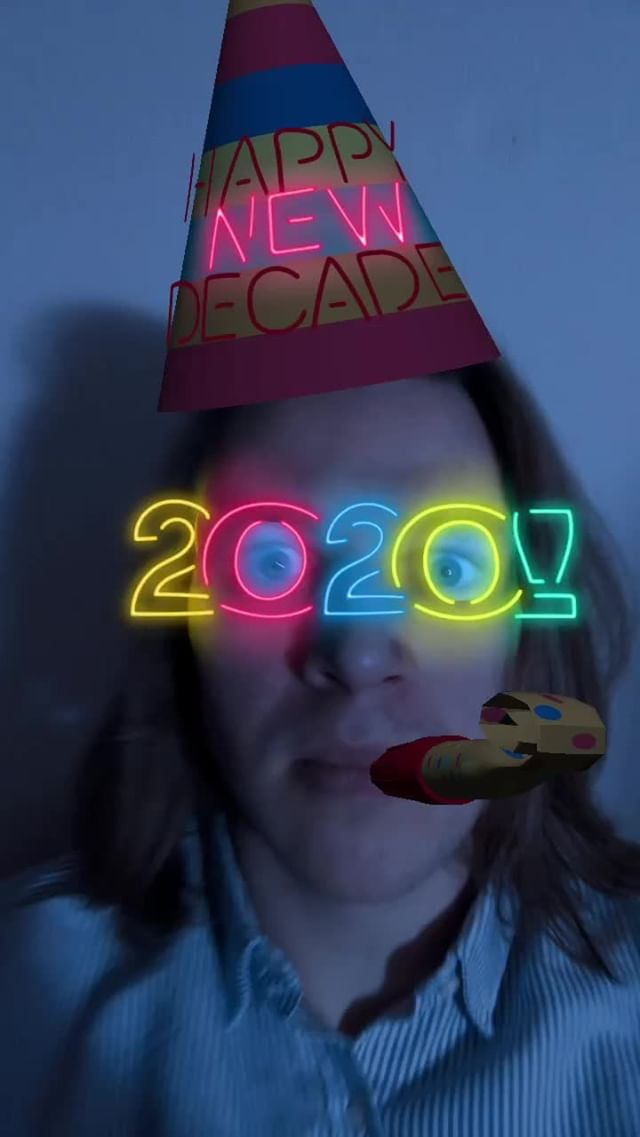 bourgadotin Instagram filter Neon 2020