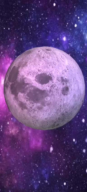 Instagram filter Moon Explorer