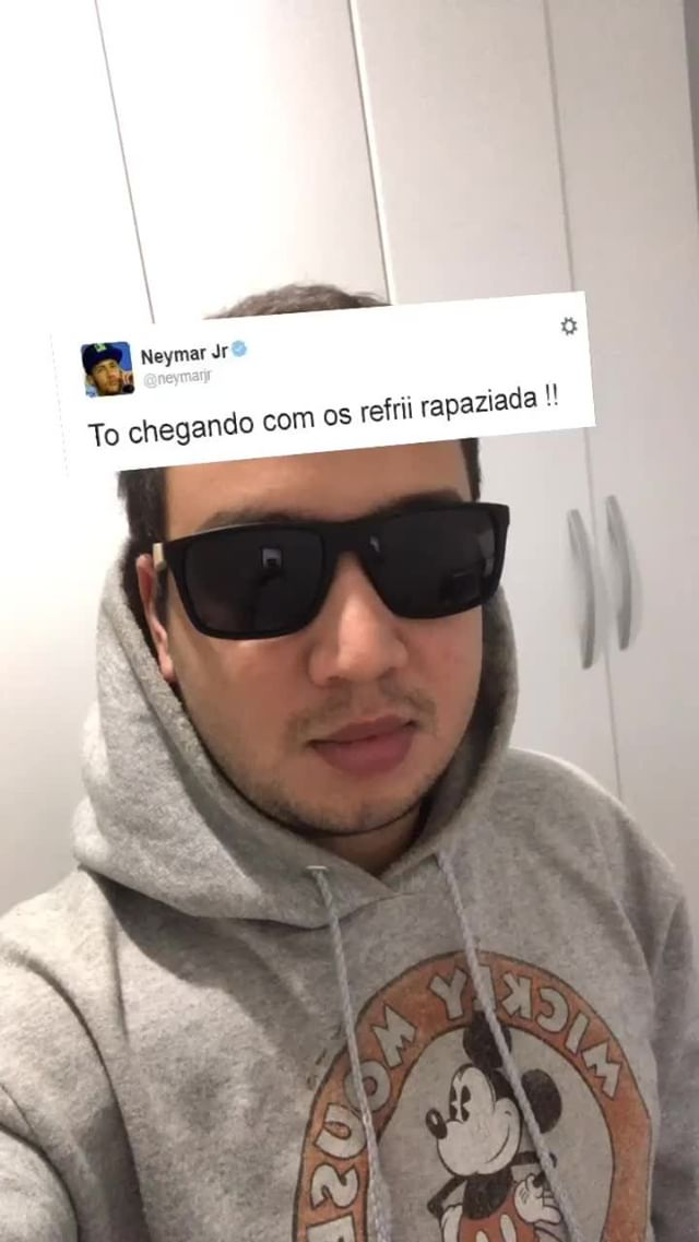 Instagram filter tweets do neymar