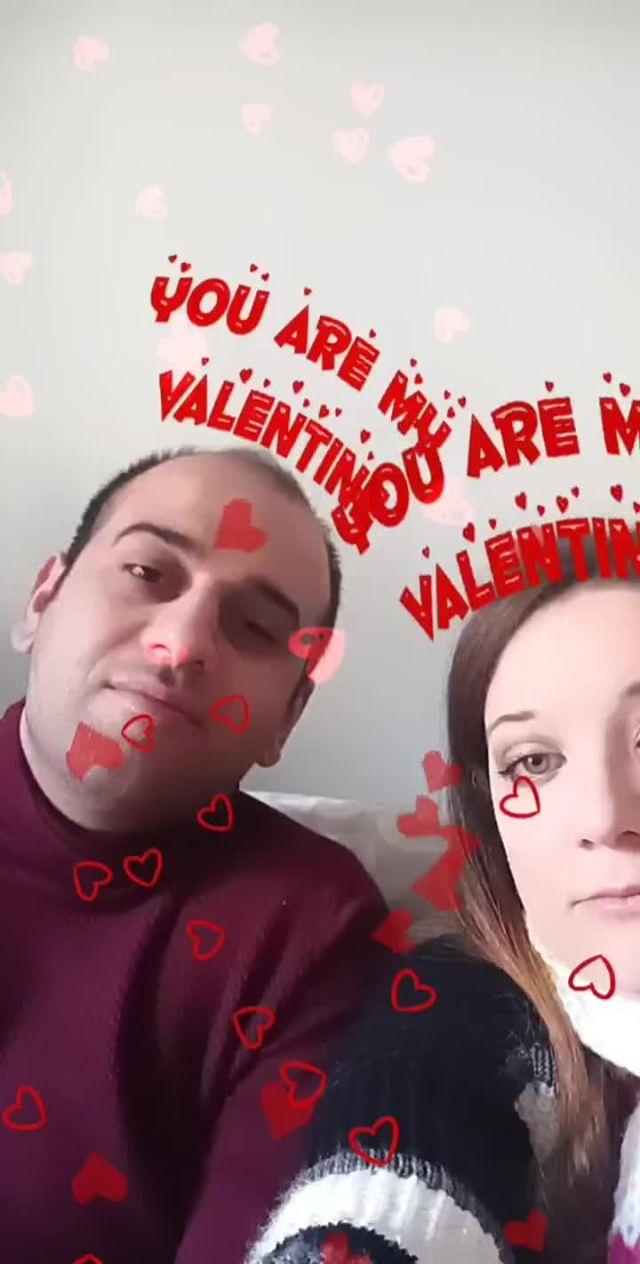Instagram filter MY VALENTINE