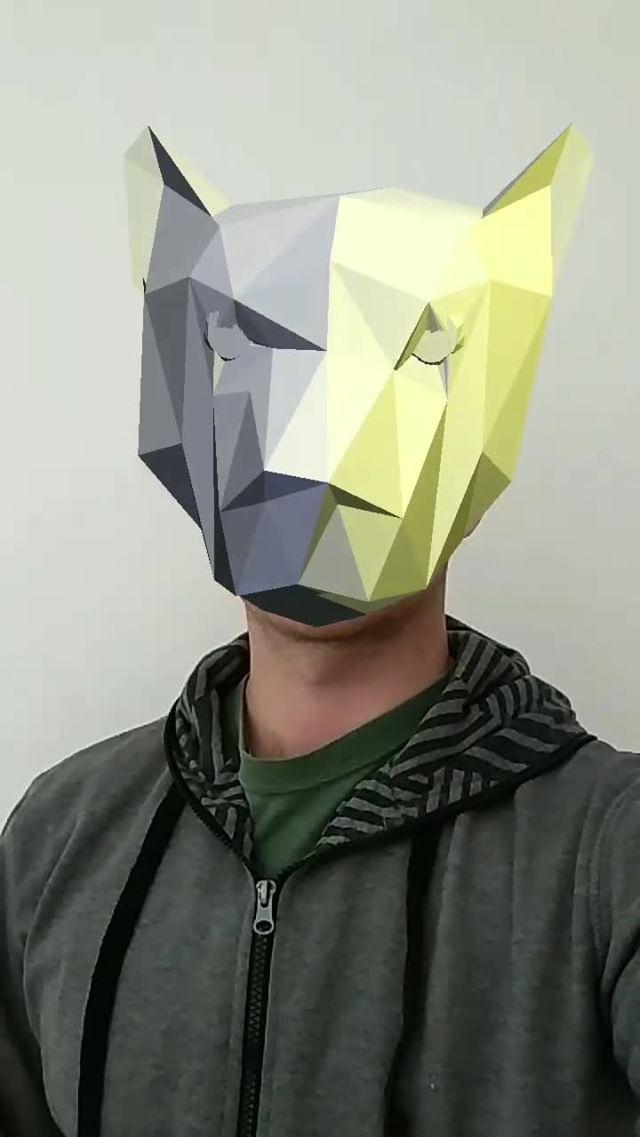 Instagram filter PaperCraft Wolf