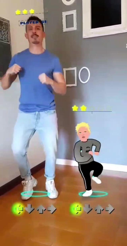 giacomo_ce Instagram filter Dancing Lello