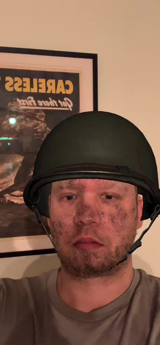 jamie_made_a_filter Instagram filter Helmets of WWII