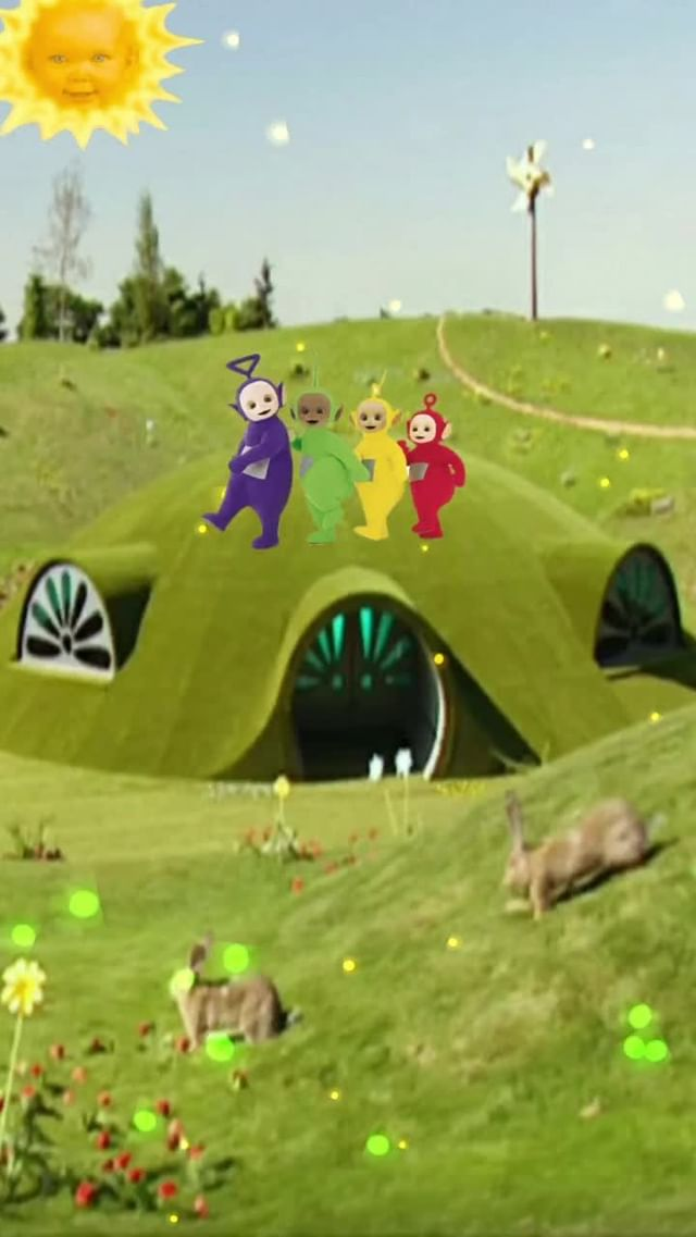 212km Instagram filter TELETUBBIES