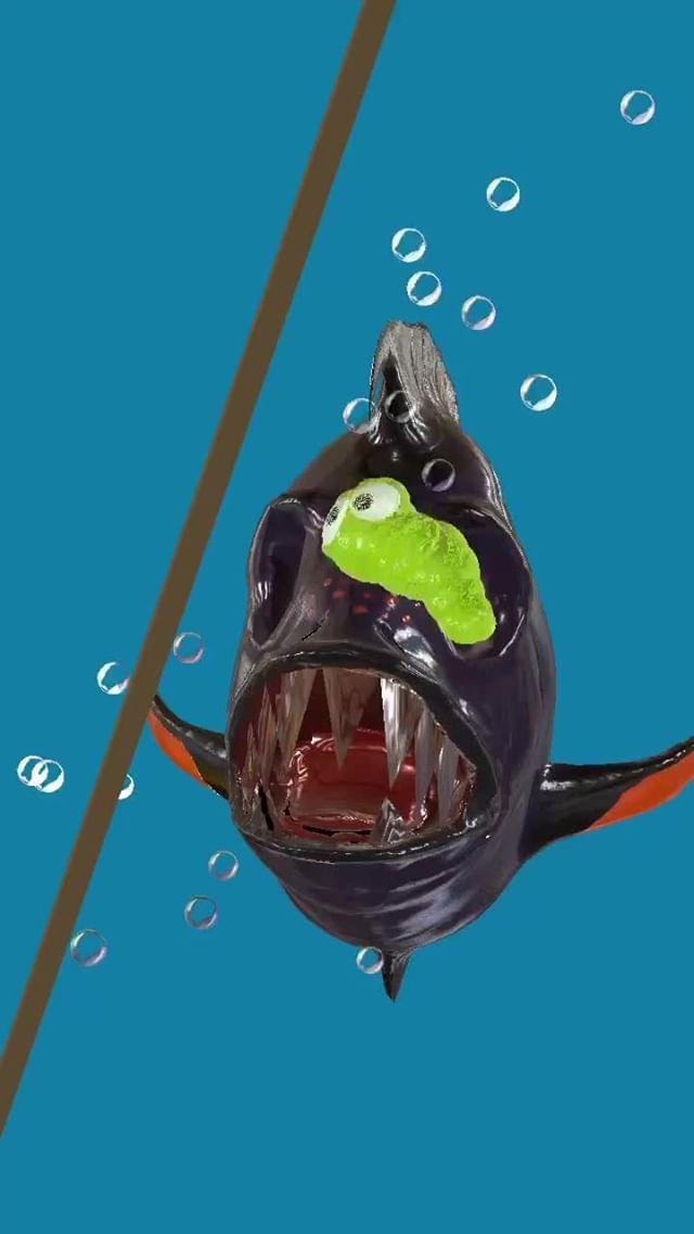 Instagram filter Prometheus fish