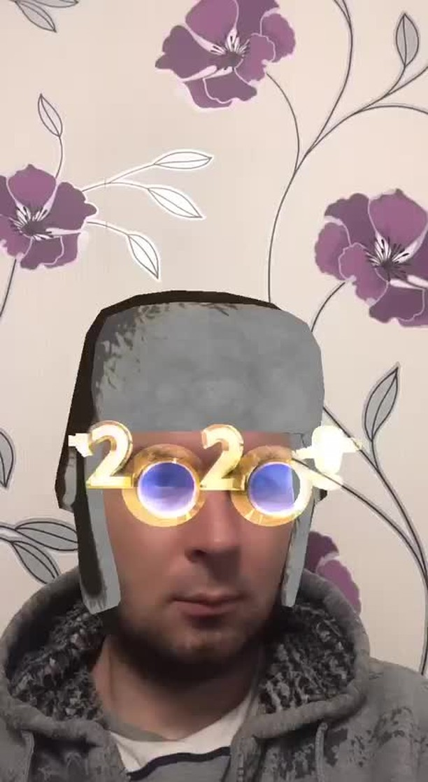 Instagram filter New year