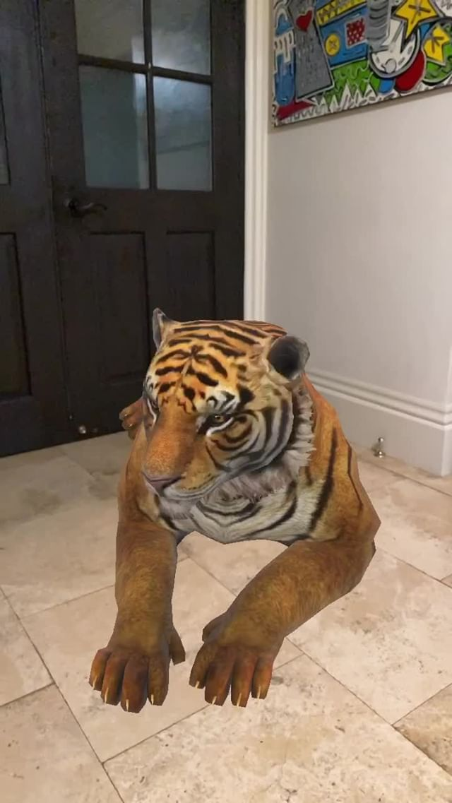 Instagram filter Bengal Tiger