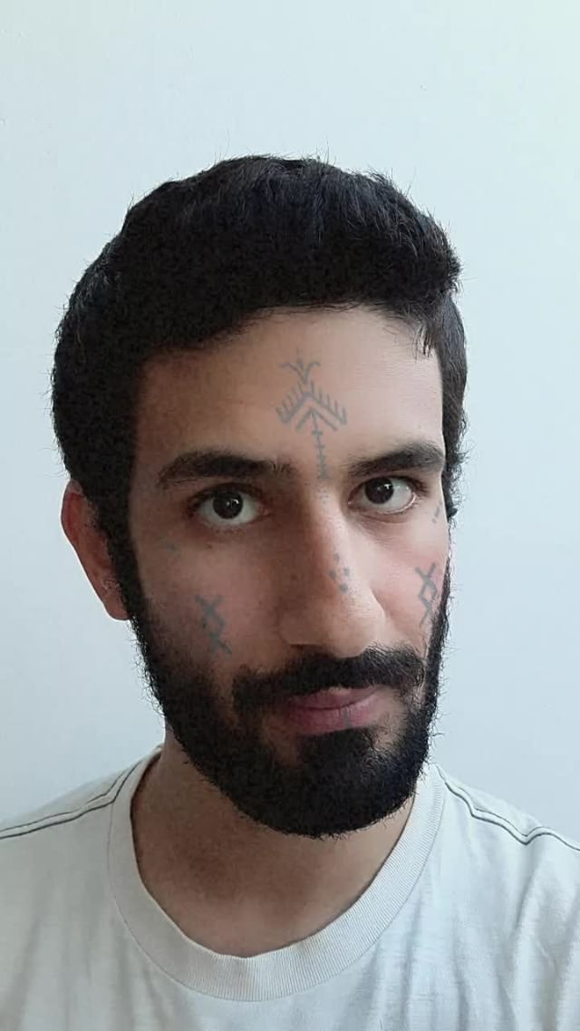 Instagram filter Amazigh Tattoo