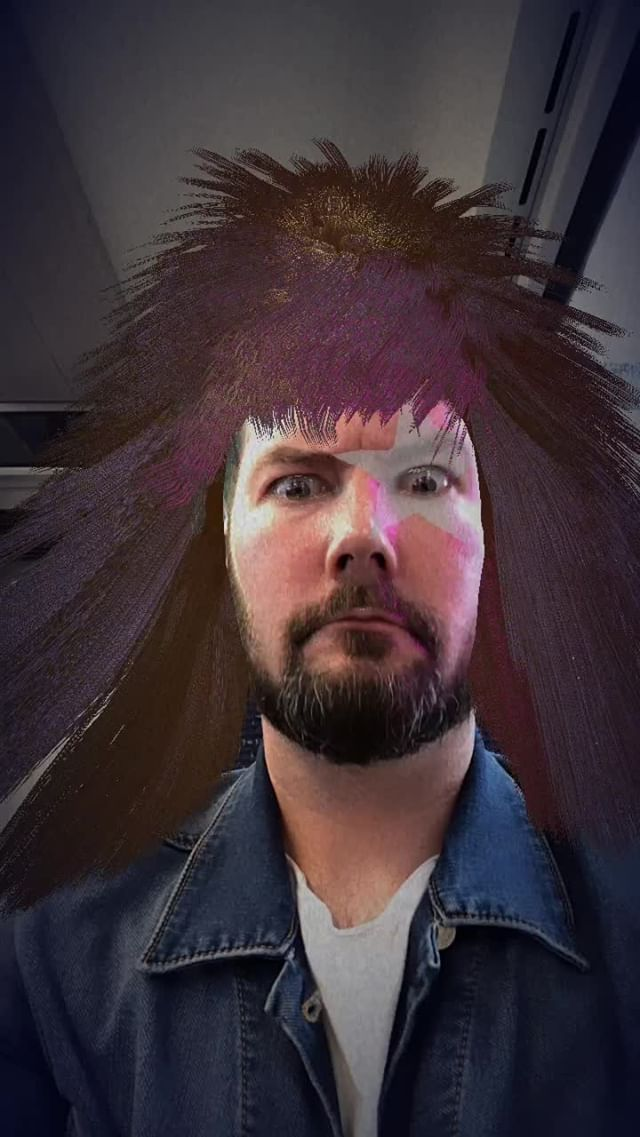 Instagram filter Rock Hair