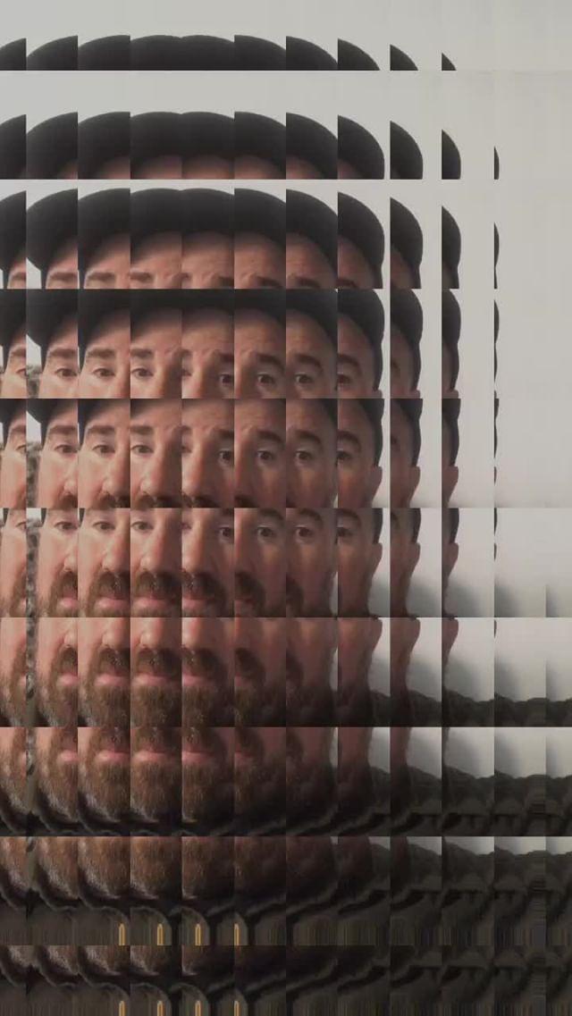 Instagram filter grid study