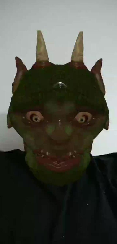 Instagram filter Demon Head