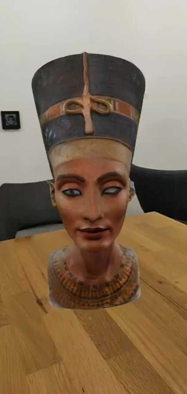 Instagram filter Nefertiti