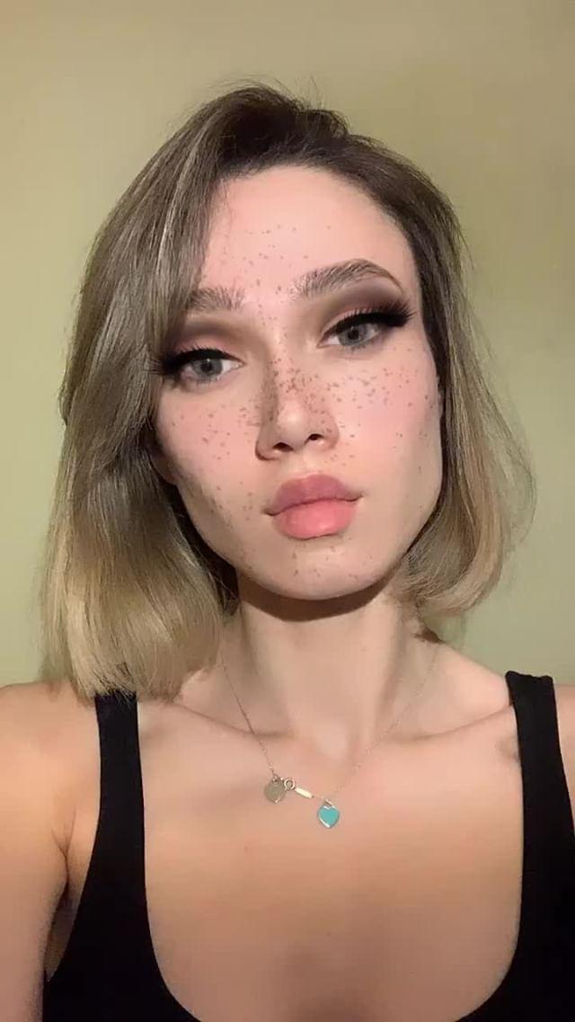 liberman_dasha Instagram filter grey eyes