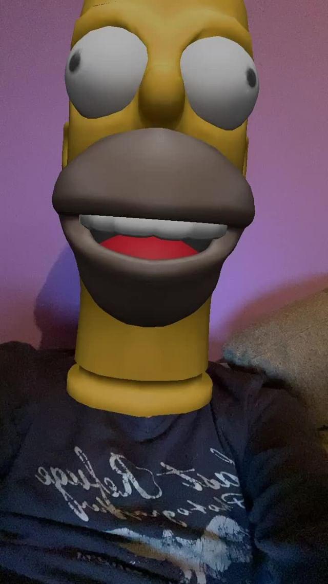 Instagram filter Homer Face