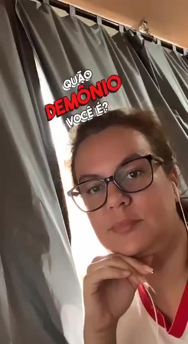 Instagram filter QUÃO DEMÔNIO?