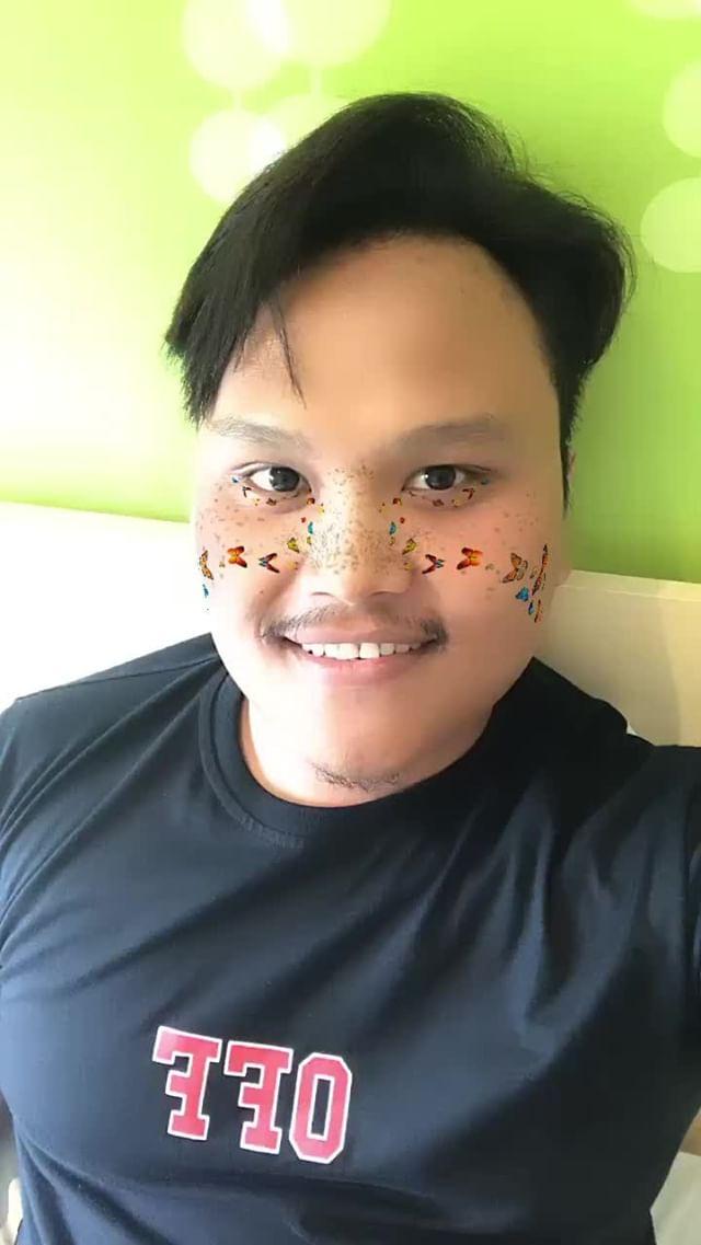 kikiemr91 Instagram filter Butterfly freckles