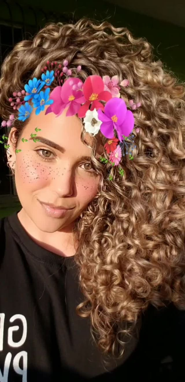 andriellyneri Instagram filter Coroa de flores