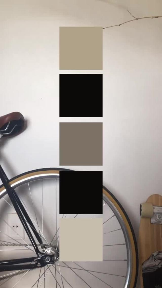 Instagram filter Palettes
