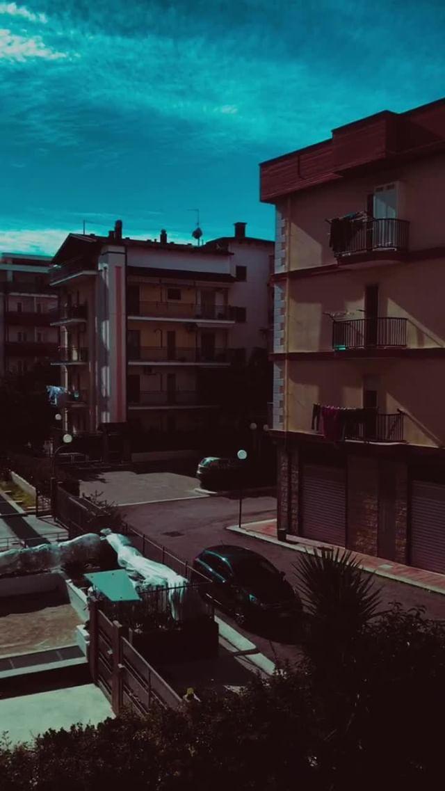 Instagram filter cinematic color