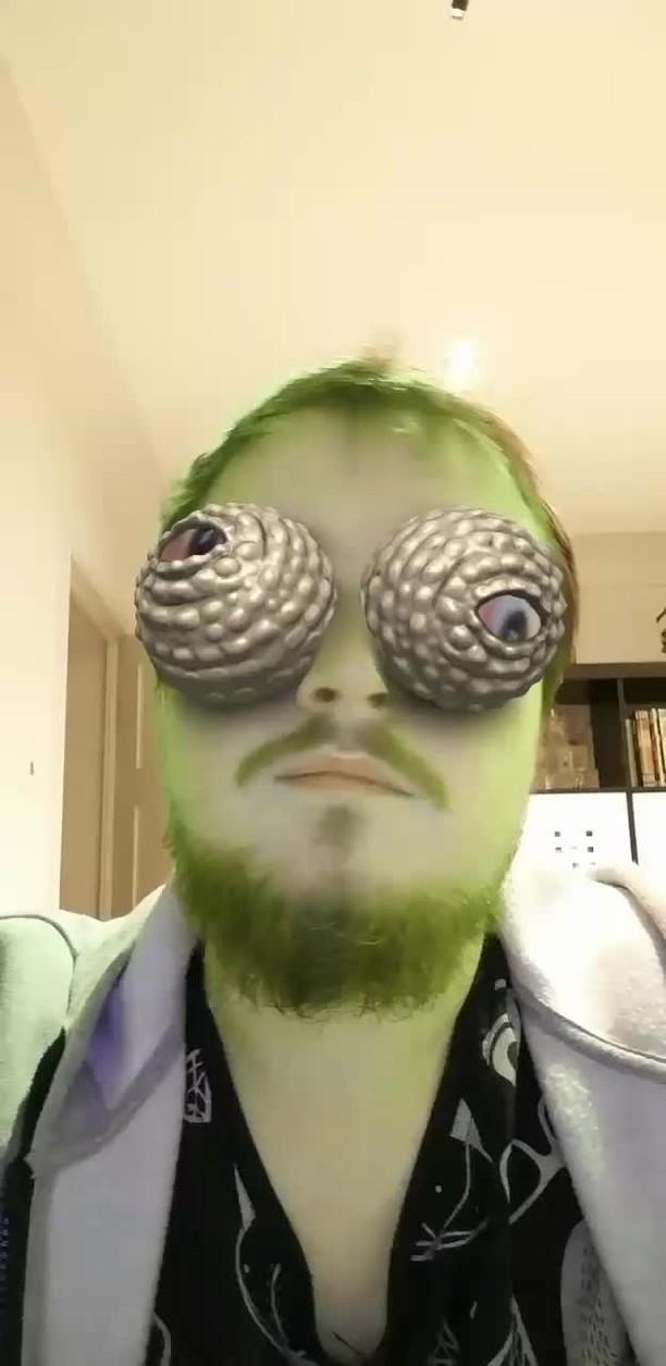 Instagram filter Chameleon Eyes