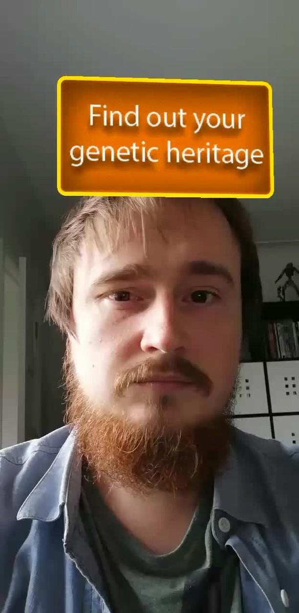 Instagram filter Genetics Scanner