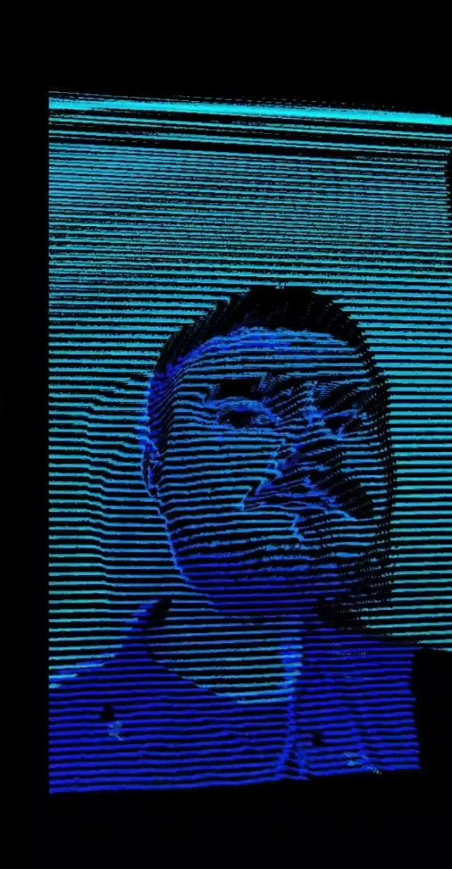 Instagram filter Hologram