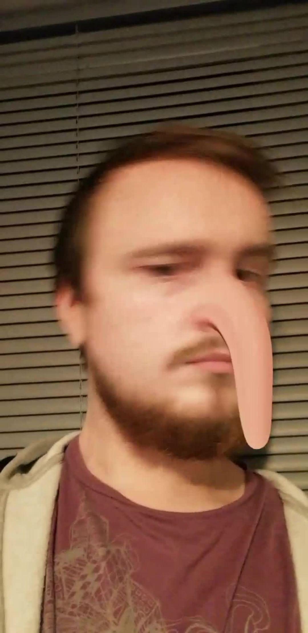 Instagram filter Floppy Nose