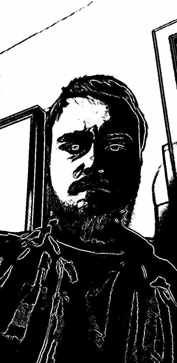 Instagram filter Comic Noir