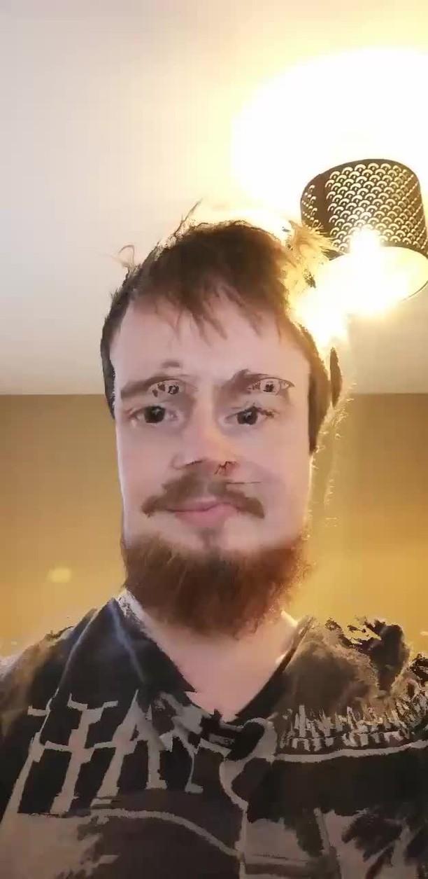 Instagram filter Face Smear