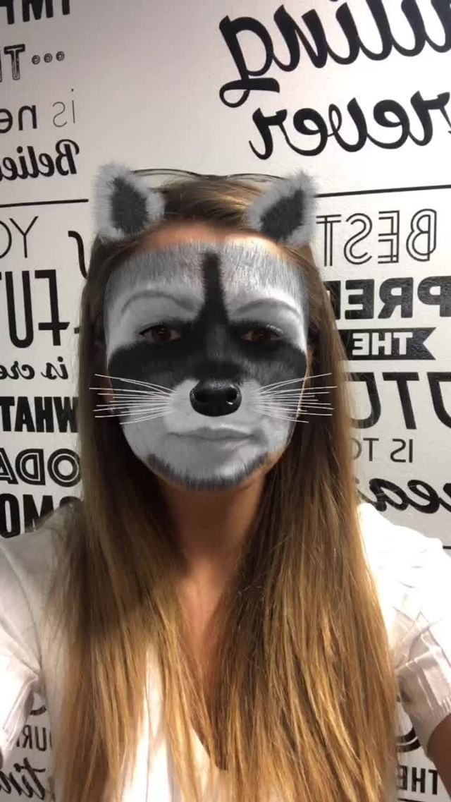 Instagram filter Candy Raccoon