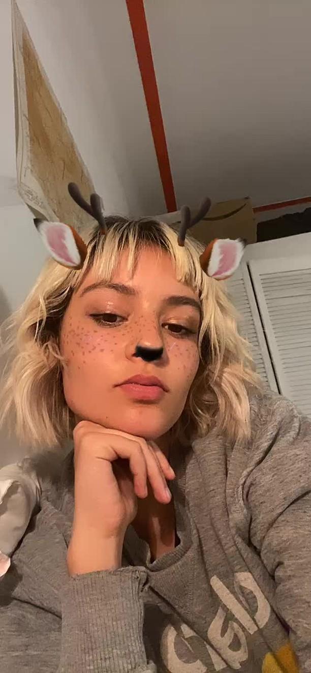 Instagram filter reindeer