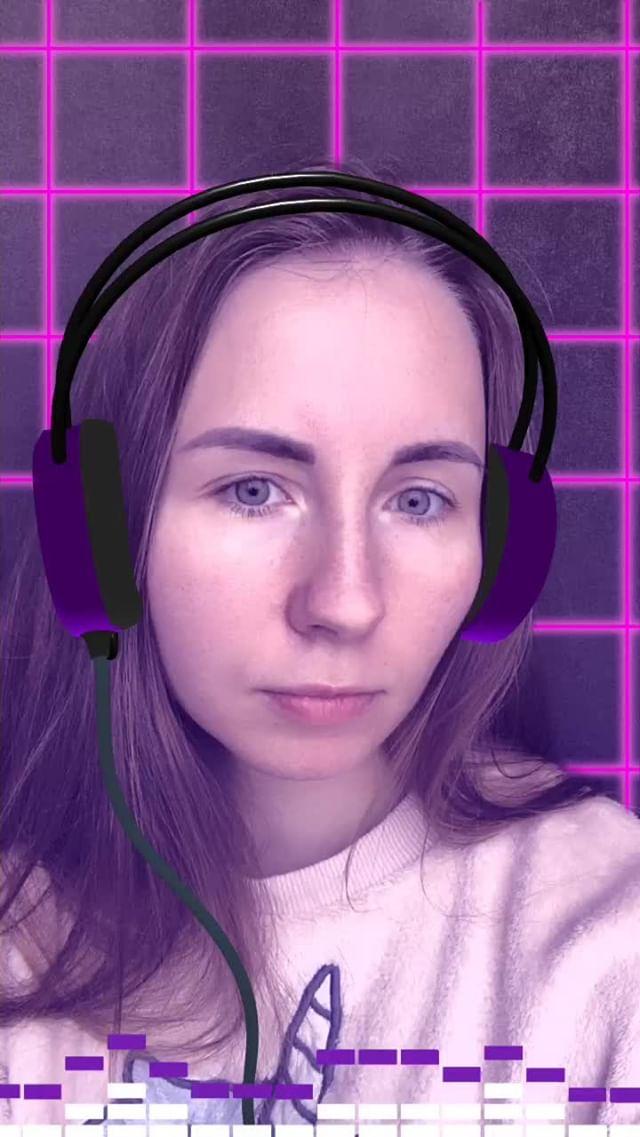Instagram filter DJ