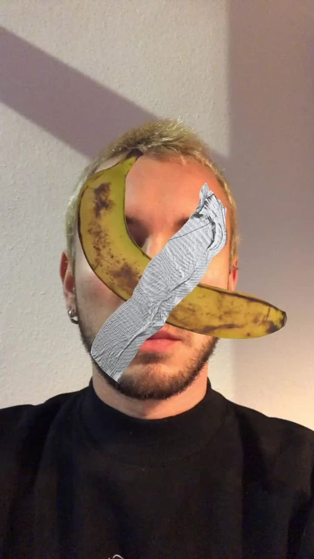 Instagram filter bananart