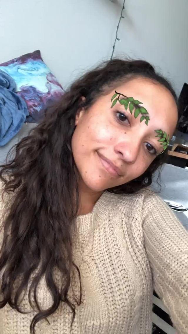 Instagram filter Leafy Brows