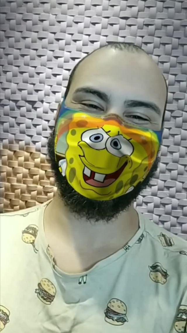 samuelmecenas Instagram filter mask cartoon