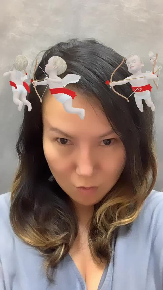 Instagram filter Cupid Halo