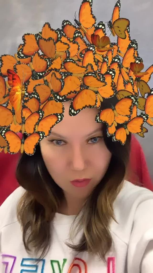 Instagram filter Butterfly Goddess 3