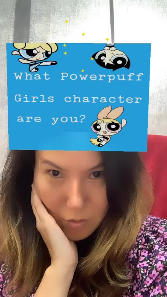 Instagram filter Powerpuff Character?