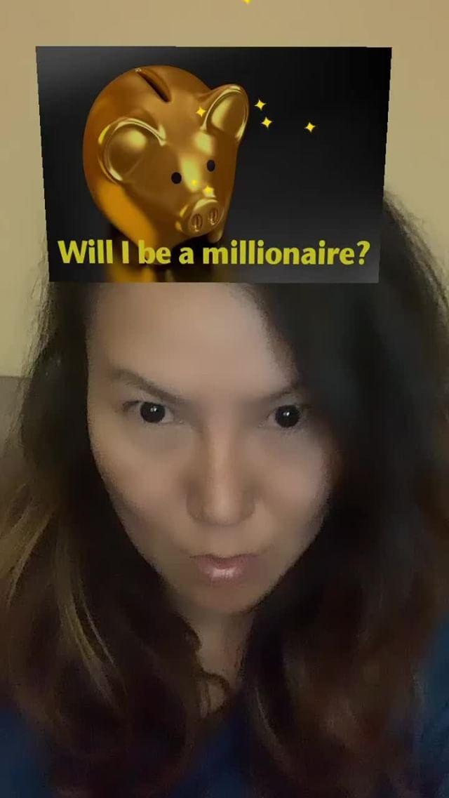 Instagram filter Me Millionaire?