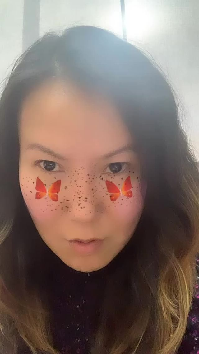 Instagram filter Butterfly Blush II