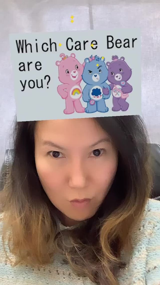 Instagram filter What Care Bear?